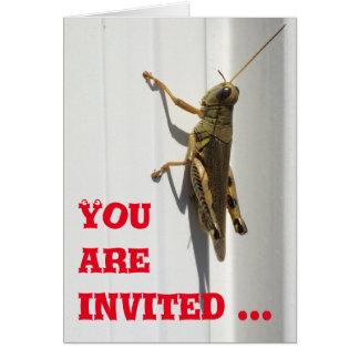 Invitation, card