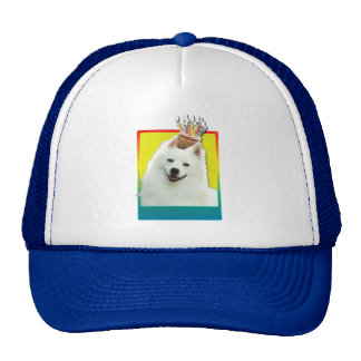 Invitation Cupcake - American Eskimo Hats