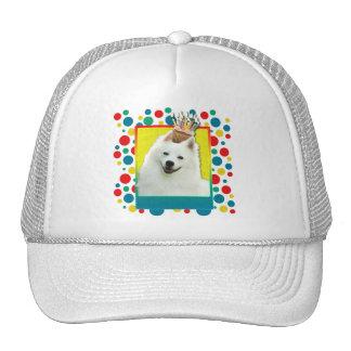 Invitation Cupcake - American Eskimo Mesh Hats