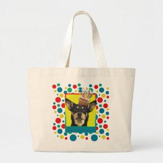Invitation Cupcake - Australian Kelpie - Jude Jumbo Tote Bag