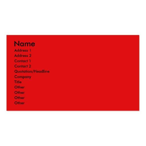 Invitation Cupcake - Boston Terrier Business Card Template