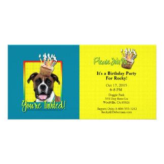 Invitation Cupcake - Boxer - Vindy Picture Card