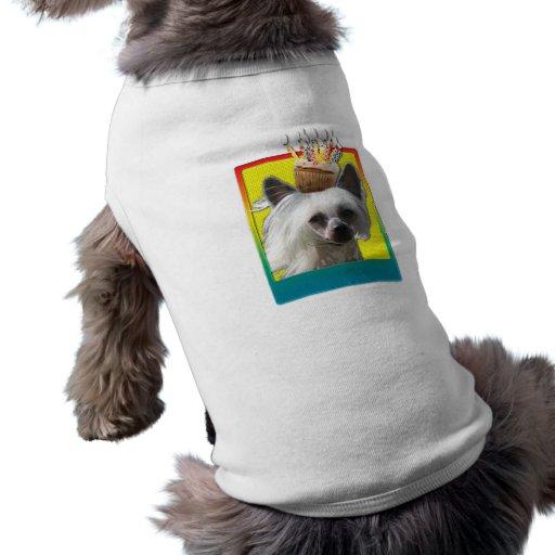 Invitation Cupcake - Chinese Crested - Kahlo Dog Clothing