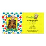 Invitation Cupcake - Collie - Natalie Photo Greeting Card