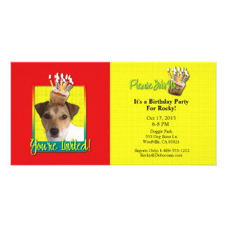 Invitation Cupcake - Jack Russell Photo Cards