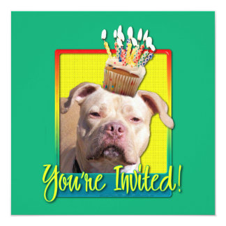 Invitation Cupcake - Pitbull - Jersey Girl