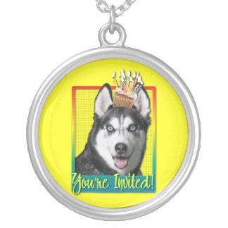 Invitation Cupcake - Siberian Husky Jewelry