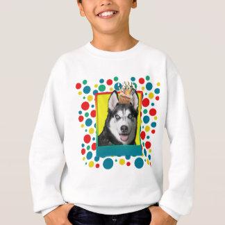 Invitation Cupcake - Siberian Husky Sweatshirt