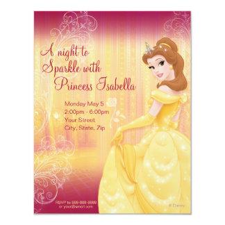Invitation d'anniversaire de belle