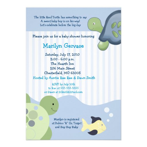 Permalink to texte invitation baby shower