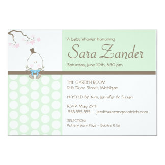 Invitation de baby shower - Humpty Dumpty