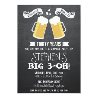 invitation de bière/invitation bière de tableau