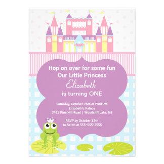 Invitation de fête d anniversaire de princesse de