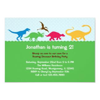 Invitation de fête d'anniversaire de ruée de carton d'invitation  12,7 cm x 17,78 cm