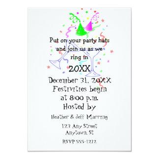 Invitation de fête de la partie de nouvelle année
