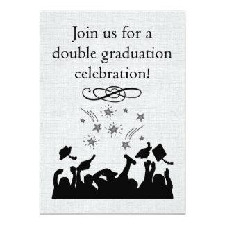 Invitation de fête de remise des diplômes pour des