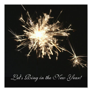 Invitation de la partie de nouvelle année de
