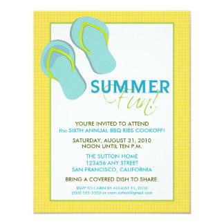 Invitation de l'amusement Picnic/BBQ d'été