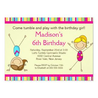 Invitation de partie d'anniversaire de enfant de carton d'invitation  12,7 cm x 17,78 cm