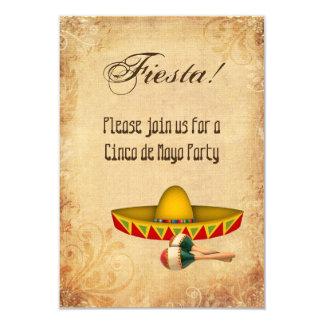 Invitation de partie de Cinco De Mayo