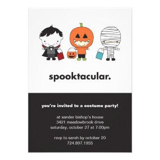 Invitation de partie de costume de Spooktacular Ha