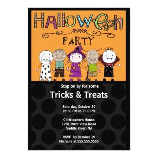 Invitation de partie de Halloween de partie de