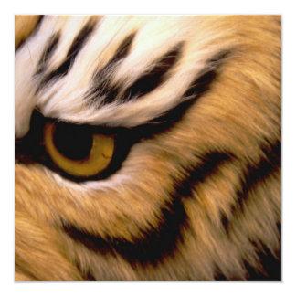 Invitation de photo de tigre