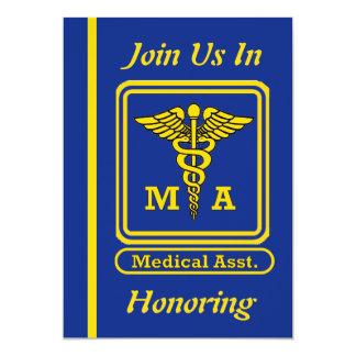 Invitation de retraite d'aide médical