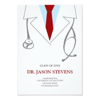 Invitation de White Coat Medical Graduation de