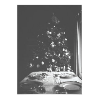 Invitation démodé de Noël