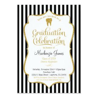 Invitation dentaire d'obtention du diplôme