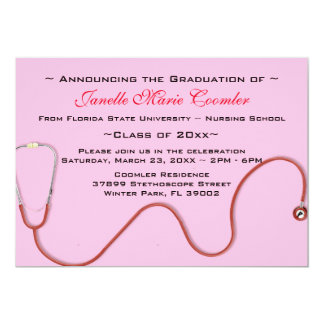 Invitation d'obtention du diplôme de Faculté de