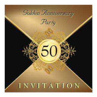 Invitation élégante d'anniversaire de cravate