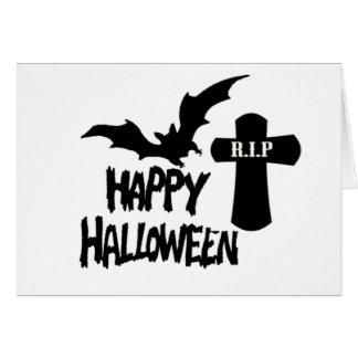 Invitation heureuse de Halloween - de partie de Ha Carte