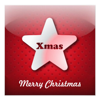 Invitation icon Christmas star