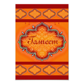 Invitation*India*Henna Card