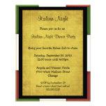 Invitation italienne de partie de nuit