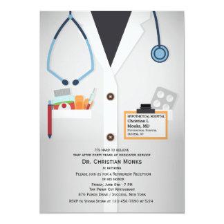 Invitation médicale de retraite de personnel