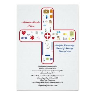 Invitation médicale d'obtention du diplôme de
