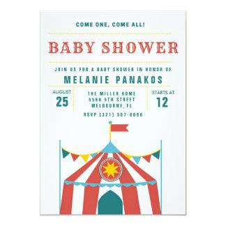 Invitation mignonne de partie de baby shower de