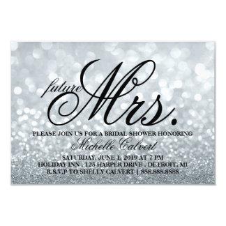 Invitation - Mme nuptiale d'avenir de douche de Carton D'invitation 8,89 Cm X 12,70 Cm