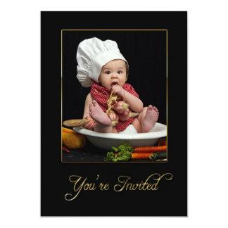 INVITATION - MULTI PURPOSE - BABY AS CHEF