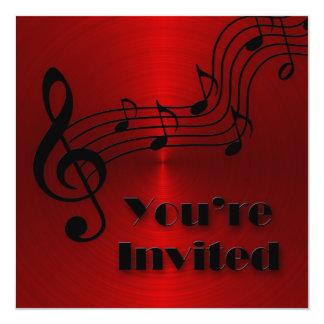 Invitation - Music -Notes
