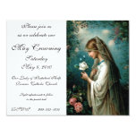 "Invitation: Mystical Rose 4.25"" X 5.5"" Invitation Card"