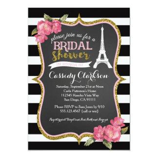 Invitation nuptiale de douche de Paris de Français