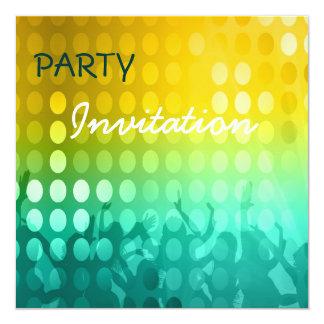 Invitation Party Rave