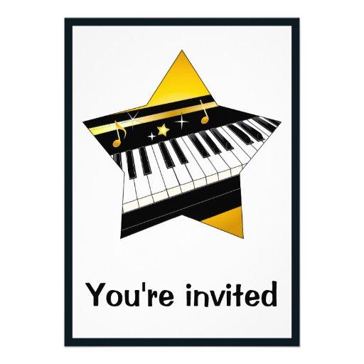 Invitation: Piano Recital with Star