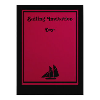 Invitation - Sailing Away