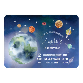 Invitation Space and Planets