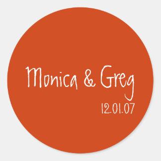 Invitation Sticker